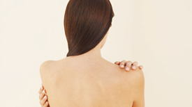 Treating acne on the back